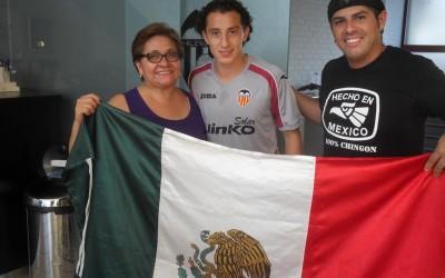 Encuentro con Andrés Guardado, futbolista del Valencia Club