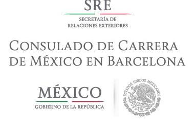 COMUNICADO DEL CONSULADO DE MÉXICO EN BARCELONA