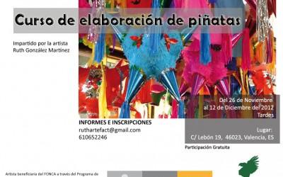 Segundo curso de elaboración de piñatas