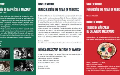 Los pueblos de México en el día de Difuntos