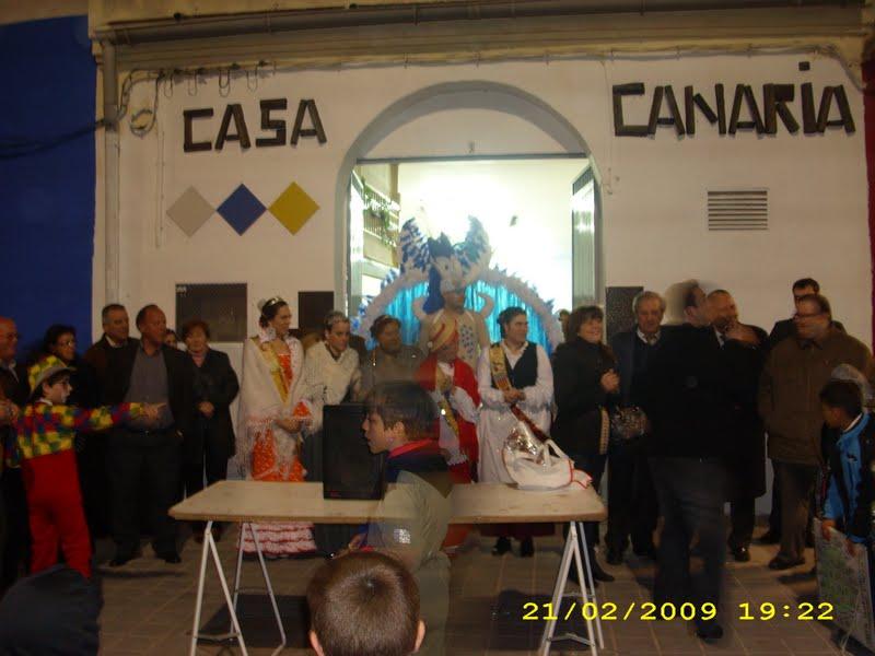 Carnaval Casa Canaria 2009