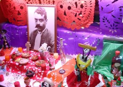 Emiliano Zapata Mini Altar 2012