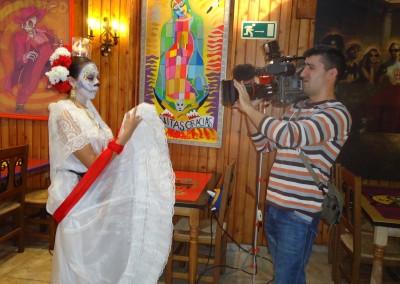Grabación programa Altar de Muertos 2012