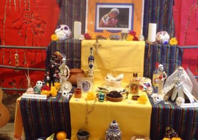Inauguración Altar de Muertos 2012