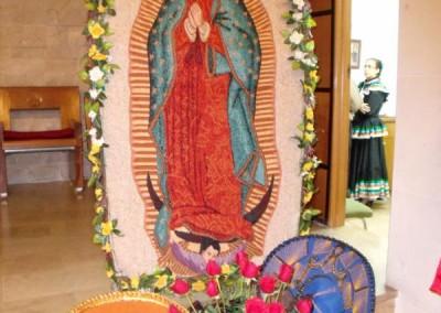 Misa Virgen de Guadalupe 2012