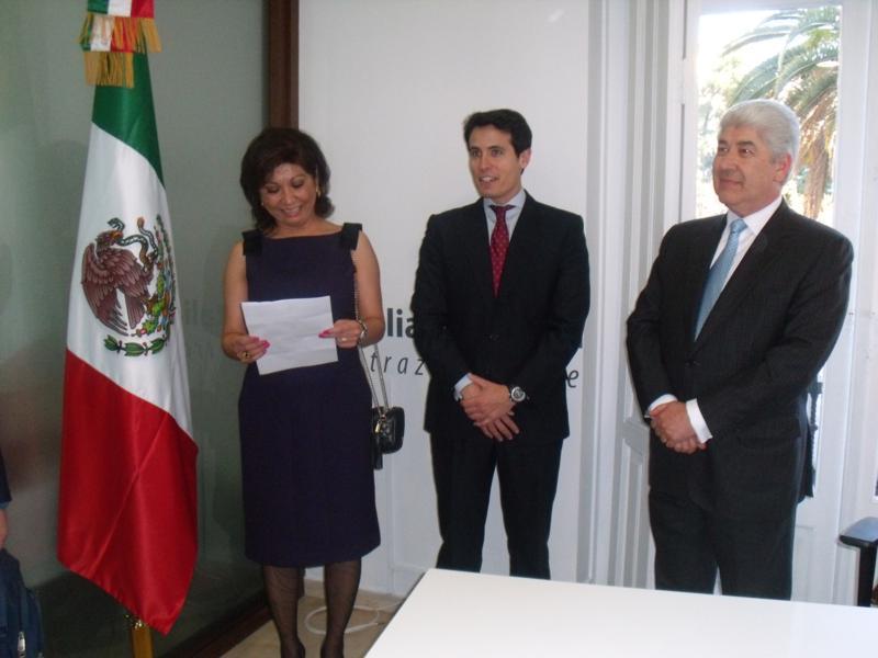 Presentación de Cónsul Pablo Romá