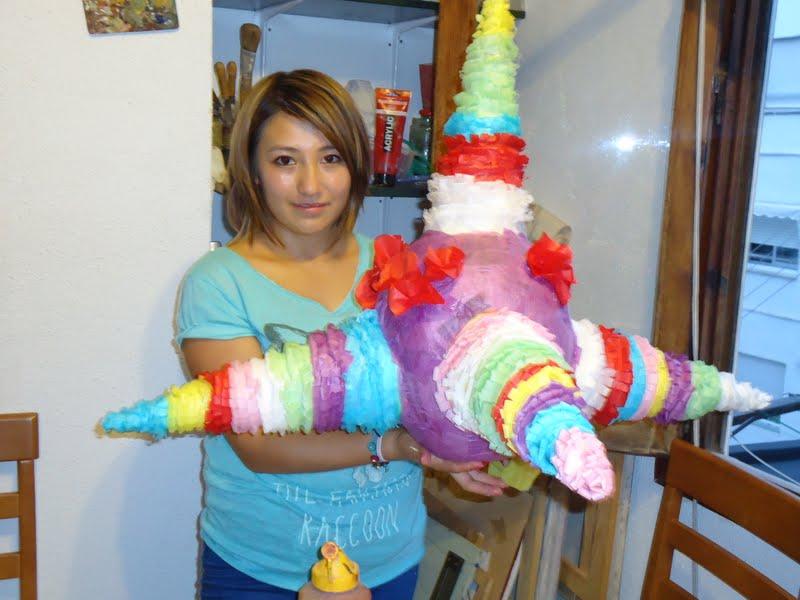 Taller de Piñatas 2012