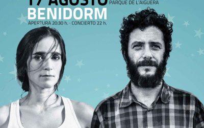 Julieta Venegas y Juanito Makandé en Benidorm
