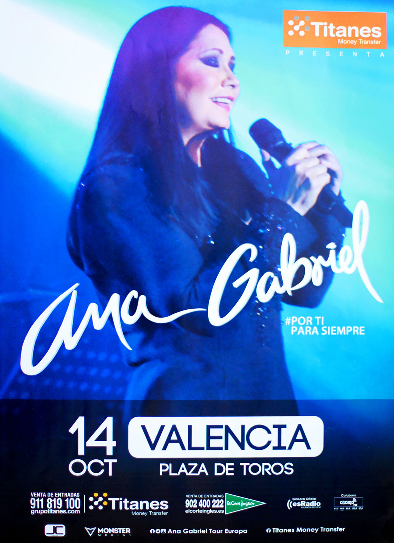 Ana Gabriel en valencia