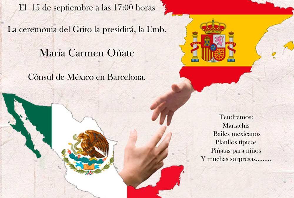 Celebración en Valencia del Día del Grito de Independencia de México