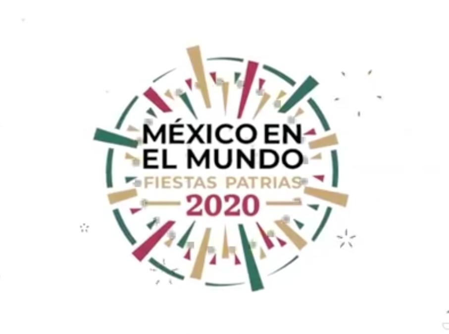 Presentación de la nueva embajadora de México en España y Programa de la Embajada de México en España para las Fiestas patrias 2020